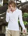 Damska koszulka Polo Tee Jays Stretch Long Sleeve