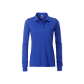Damska koszulka Polo Workwear Polo Pocket Longsleeve - Royal