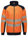 Odblaskowy polar Regatta Hi-Vis Pro Fleece Jacket - Orange/Navy