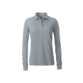 Damska koszulka Polo Workwear Polo Pocket Longsleeve - Grey / Heather