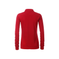 Damska koszulka Polo Workwear Polo Pocket Longsleeve - Red