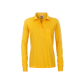 Damska koszulka Polo Workwear Polo Pocket Longsleeve - Gold / Yellow