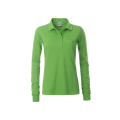 Damska koszulka Polo Workwear Polo Pocket Longsleeve - Lime / Green