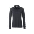 Damska koszulka Polo Workwear Polo Pocket Longsleeve - Carbon