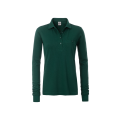 Damska koszulka Polo Workwear Polo Pocket Longsleeve - Dark Green