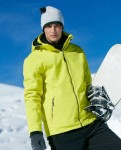 Męska kurtka zimowa James Nicholson Wintersport Softshell