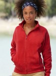 Damski Polar Fruit of The Loom Lady-Fit Full-Zip Fleece