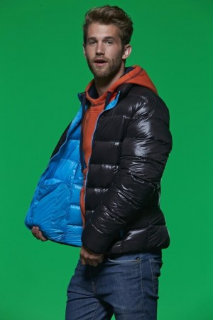 Męska kurtka pikowana James Nicholson Winter Down Jacket
