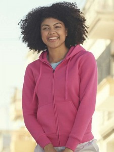 Bluza damska Fruit of the Loom Lady-Fit Premium Hooded