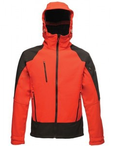 Męska kurtka Regatta X-Pro Powergrid Hooded Softshell Jacket