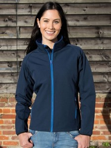 Damski Softshell Result Printable Soft Shell Jacket