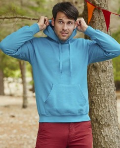 Bluza unisex Fruit of the Loom Classic Hooded Sweat