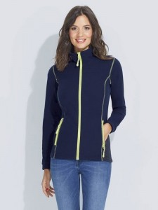 Damski Polar Sol's Micro Fleece Zipped Jacket Nova