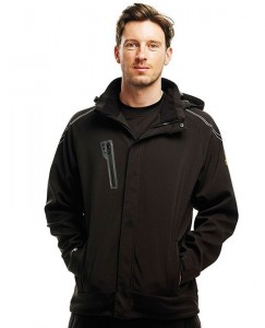 Męski Softshell Regatta Peakzone II Lined Hooded