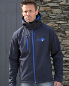 Męski Softshell Result TX Performance Hooded