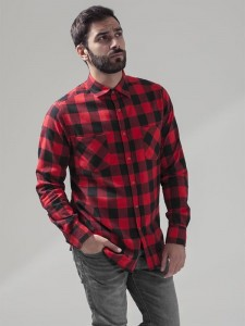 Męska koszula Build Your Brand Checked Flannel