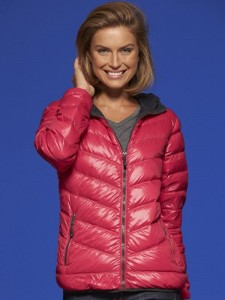 Damska kurtka puchowa James Nicholson Ladies Down Jacket