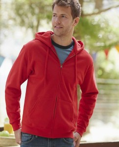 Bluza męska Fruit of the Loom Classic Hooded Sweat Jacket
