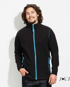 Męski Polar Sol's Micro Fleece Zipped Jacket Nova