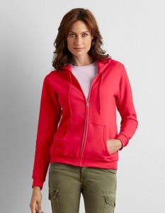 Bluza damska Glidan Heavy Blend™ Ladies´ Full Zip Hooded Sweatshirt