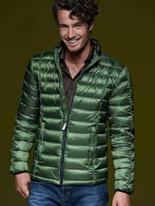 Męska kurtka James Nicholson Quilted  Down Jacket
