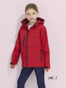 Juniorski Softshell Sol's Hooded Replay