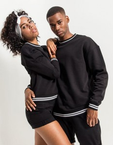 Bluza Unisex Build Your Brand College Sweat Crew