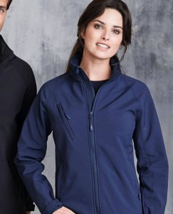 Damski Softshell Kariban Hooded
