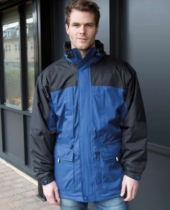 Męska kurtka  Result Multifunction Winter Jacket