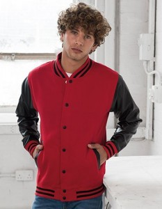 Bluza męska Just Hoods Letterman Jacket
