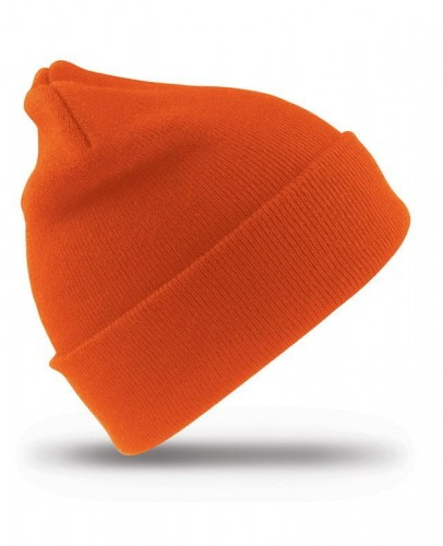 Czapka zimowa Result Woolly Ski Hat 3M Thinsulate RC33 - Fluorescent Orange