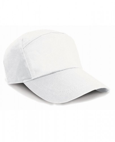 Czapka z daszkiem Result 7-Panel Advertising Cap - White