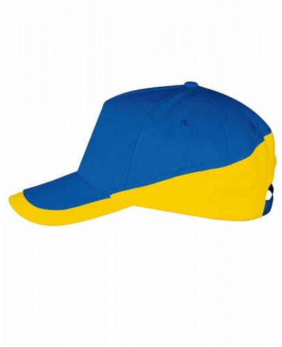 Czapka z daszkiem Sol's Booster - Royal Blue/Gold