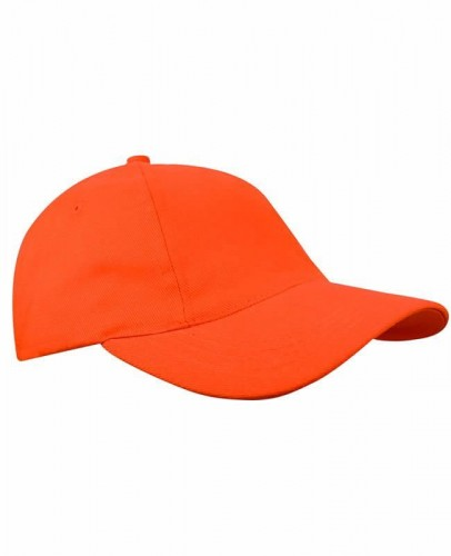 Czapka z daszkiem Printwear Brushed Promo Cap - Orange