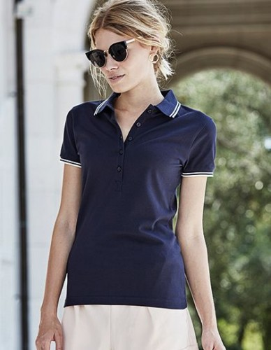 Damska koszulka Polo Luxury Stripe Stretch Polo