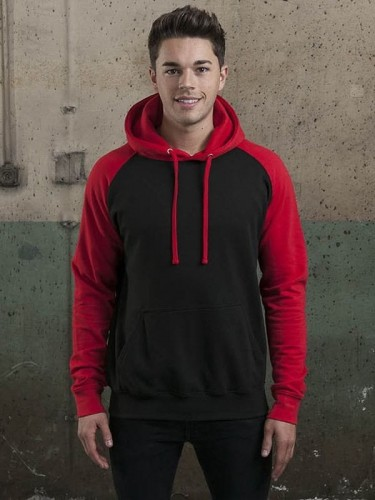 Bluza męska z kapturem Just Hoods Baseball
