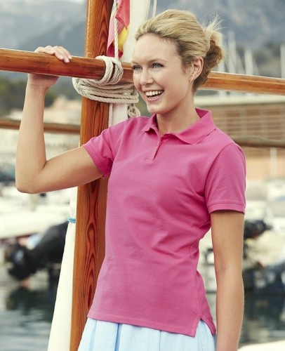 Damska koszulka Polo Fruit of the Loom Fit