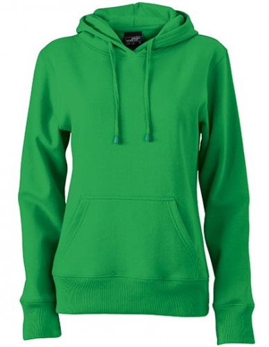Damska bluza z kapturem James Nicholson Ladies` Hooded Sweat