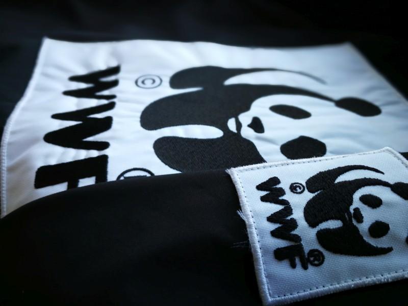 Naszywka haftowana WWF