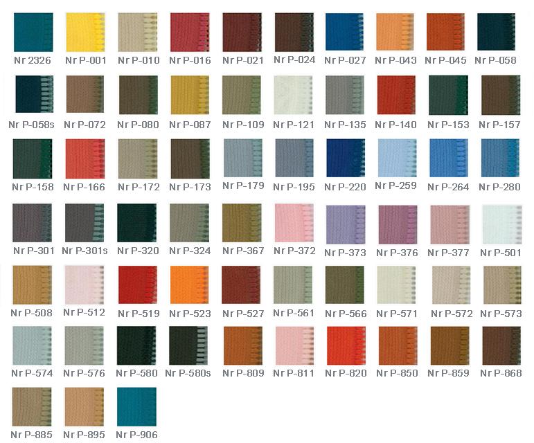 Kolory zamków