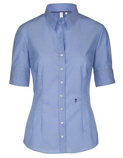 bc8b55241c Damska koszula Seidensticker Slim Fit krótki rękaw - Logos Dystrybucja