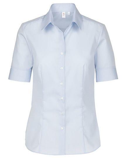 70445bb172 ... Damska koszula Seidensticker Modern Fit krótki rękaw - Light Blue ...
