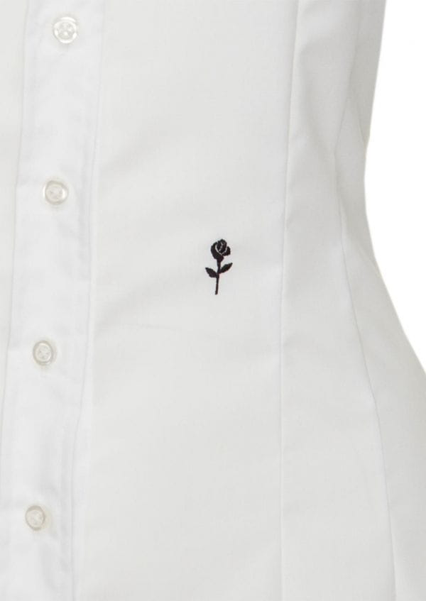 1725478a11 ... krótkim rękawem  Damska koszula z haftem Seidensticker Slim Fit ...