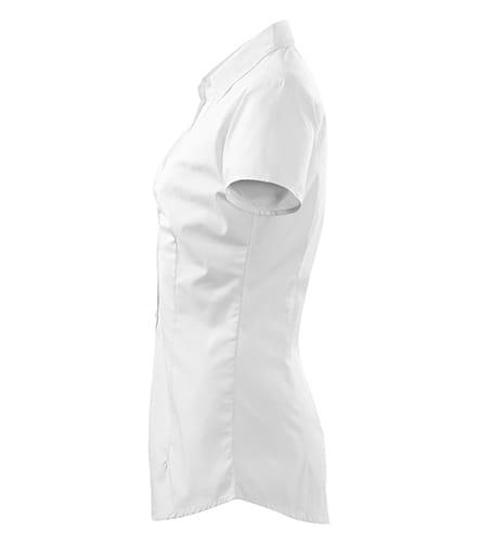 Koszula damska z krótkim rękawem i falbankami Malfini Chic  KAUK2