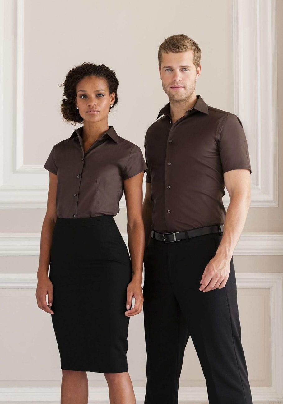 Elastyczna koszula firmowa Russell R 947F 0  Vu6V3