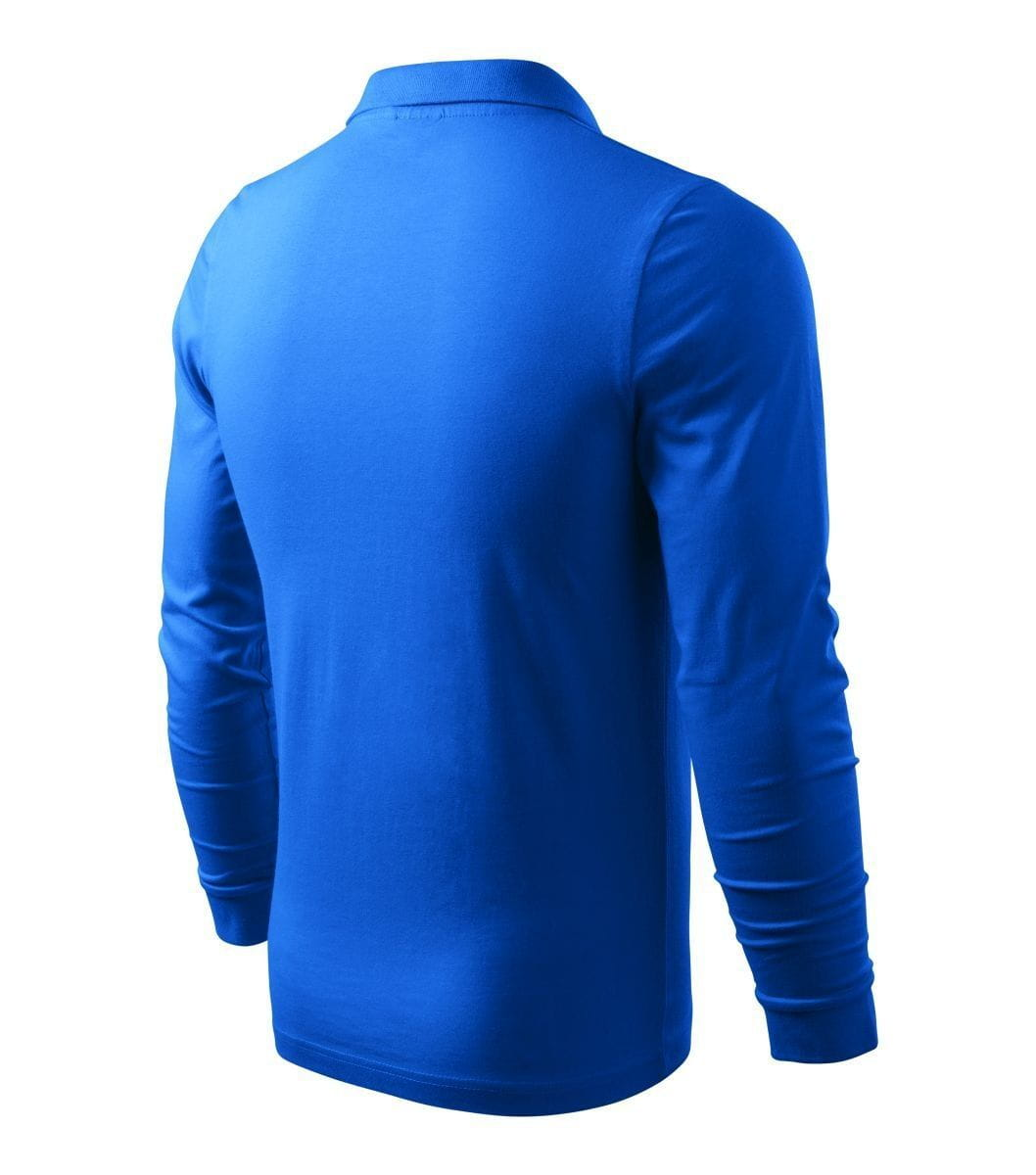 Męska koszulka Polo Malfini długi rękaw Single Jersey LS (Adler)